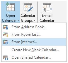 CalendarFromInternet