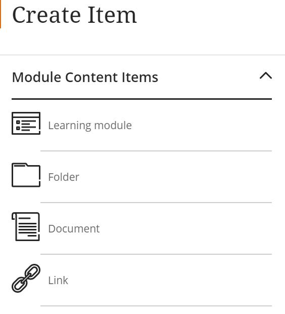 Create Content Item