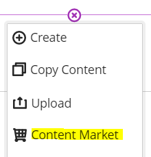 Content Market Link