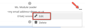 Image showing how to edit content