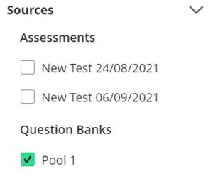 Question Sources Question Banks