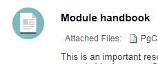 ModuleHandbook